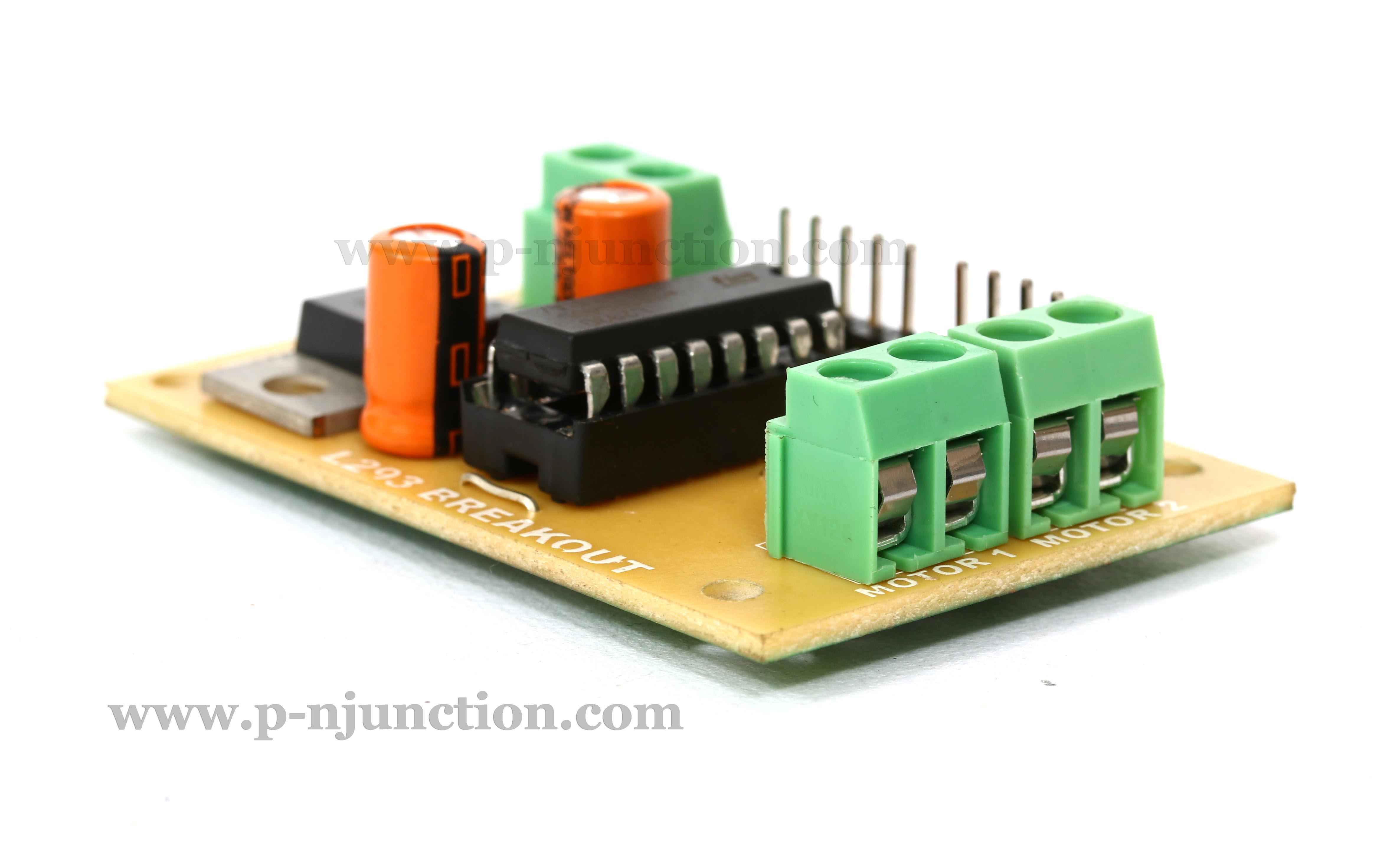 l293d motor driver board connection with arduino n light wiring diagram #14